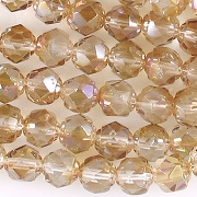 6mm Celsian Faceted 'Renaissance' Beads [50]