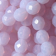8mm Opalescent Alexandrite Faceted Round Beads [25] (see Comments)