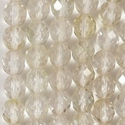 8mm Light Celsian Faceted Round Beads [25]