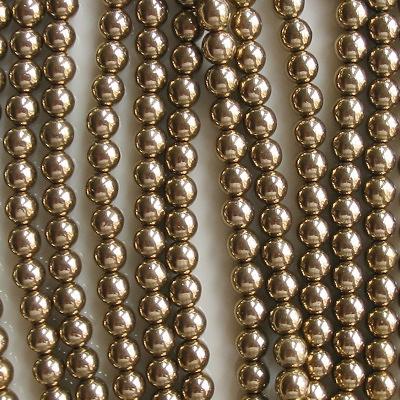 6mm 'Bronze' Round Beads [50]