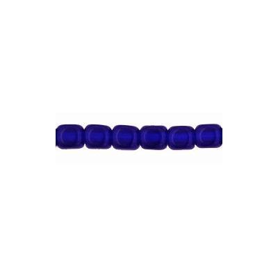 3.5mm Cobalt Blue Cube Beads [100] (see Defects)