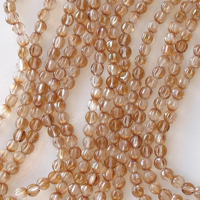 5mm Celsian Fluted Beads [100]