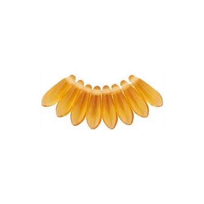 10mm Topaz Dagger Beads [100]