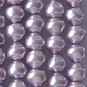 6x7mm Lavender Snail-Shell Pearl Beads [75]