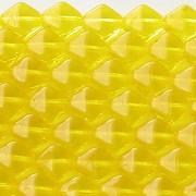 8mm Yellow Bicone Beads [50]