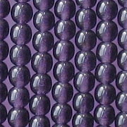 4mm Tanzanite Purple Glass Beads [100]