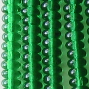 2x4mm Emerald Green Rondelle Beads [100]