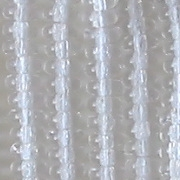 2x4mm Clear Rondelle Beads [100]