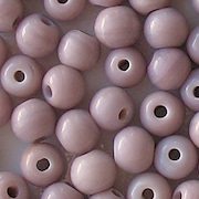 7mm Opaque Lavender Beads [50]