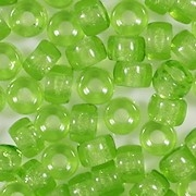 4x6mm Yellowish-Green Pony Beads [50]