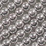 4mm Silver-Colored Beads [100]