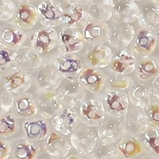 3x5mm Clear AB Nugget-Shaped Rondelle Beads [100]