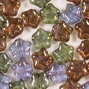 8mm Mixed Luster Star Beads [50]