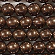 8mm Dark Bronze Beads [25]