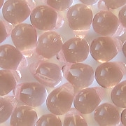 8mm Light Pink Teardrop Beads [50]
