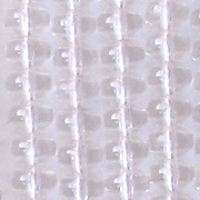 4x5mm Clear Puffy Rondelle Beads [95]