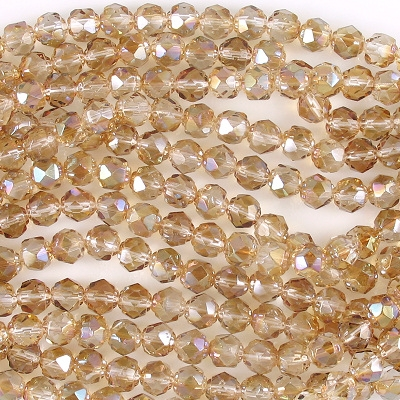 6mm Celsian 'Renaissance' Faceted Beads [50]