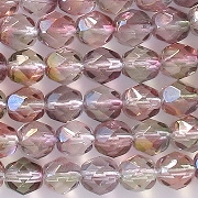 6mm 'Crystal Monet' Faceted Beads [50]