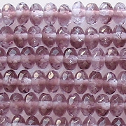 4x7mm Amethyst/Alexandrite Faceted Rondelle Beads [50]