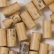 12mm Beige Mottled Matte Ceramic Cylinder Beads [40]