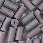 12mm Wedgewood Blue Matte Ceramic Cylinder Beads [40]