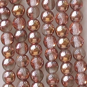4mm 'Gold Apollo' Round Beads [100]