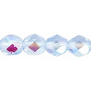 6mm Alexandrite AB Faceted Round Beads [50]