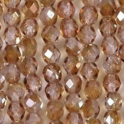 4mm Alexandrite Celsian Faceted Round Beads [100]