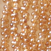 2x4mm Celsian 'Farfalle' Beads [290+]