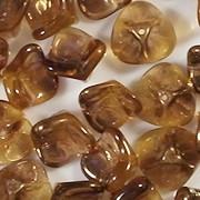 7x12mm Topaz Celsian 3-Petal Flower Beads [15]