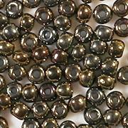 4mm Dark Bronze Iris Seed Beads [400]