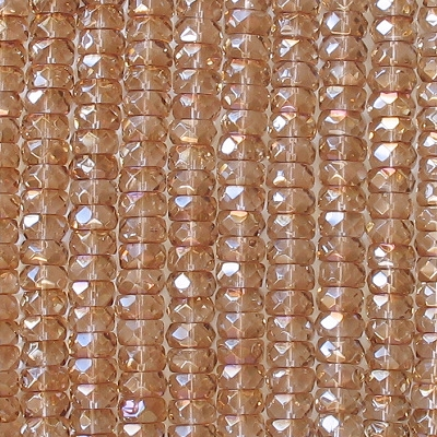 4x8mm Celsian Faceted Rondelle Beads [50]
