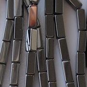 9mm Hematite Rectangle Beads [50]