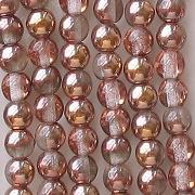 4mm 'Gold Apollo' Round Beads [100]